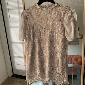 River Island Lace Top Brand New with tags size 2🌷